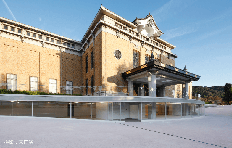 Kyoto City KYOCERA Museum of Art:Three on Glass Ribbon