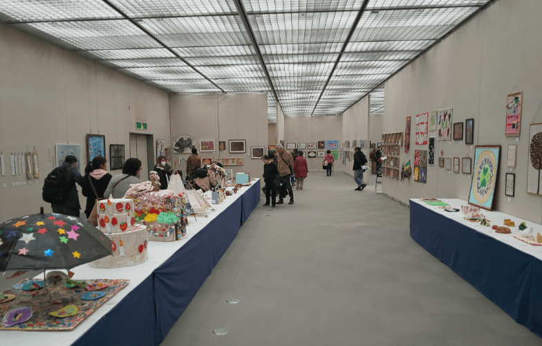 Japan Design Museum (Miyako Messe, B1 floor) Kyoto Totteoki Art Festival