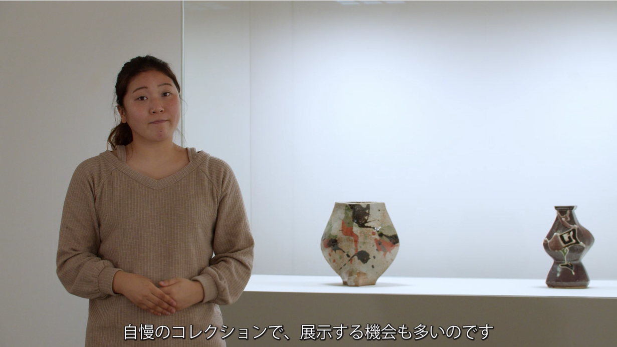 知る人ぞ知る!京都岡崎公園の魅力 手話と文字を使って、スタッフとめぐる案内動画「京都国立近代美術館」のイメージ画像